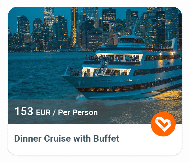 NYC Dinner Cruise with Buffet