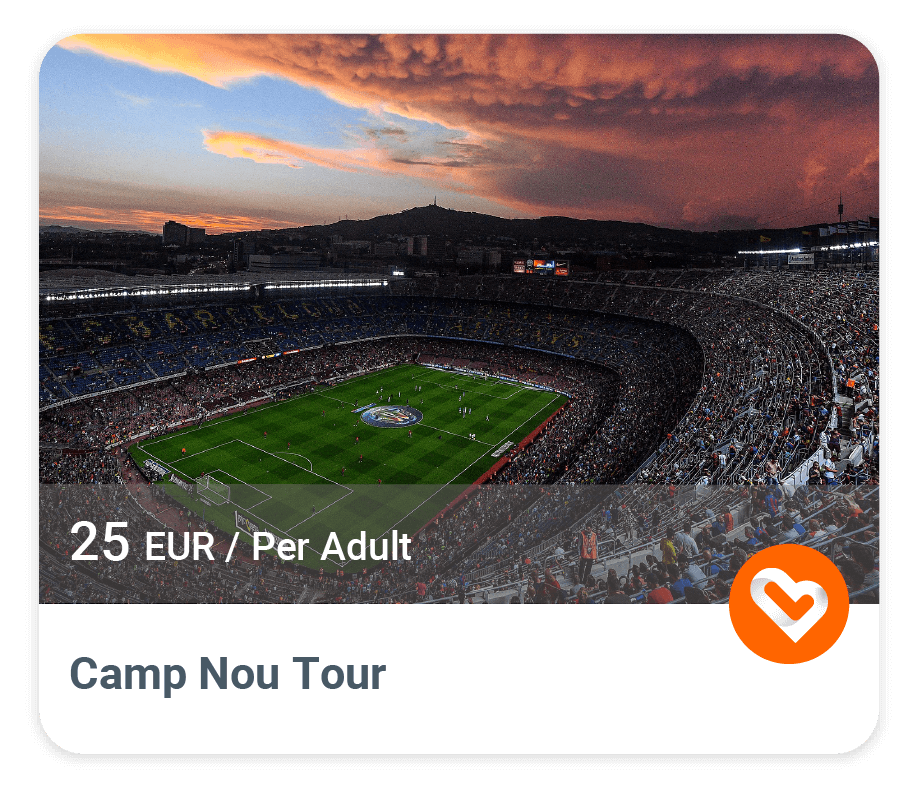 Camp Nou with price and description
