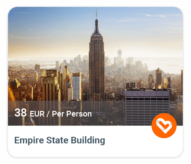 Empire State Building with price and description