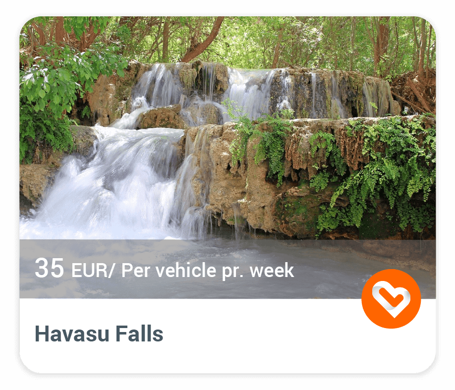 Havasu Falls with price and description