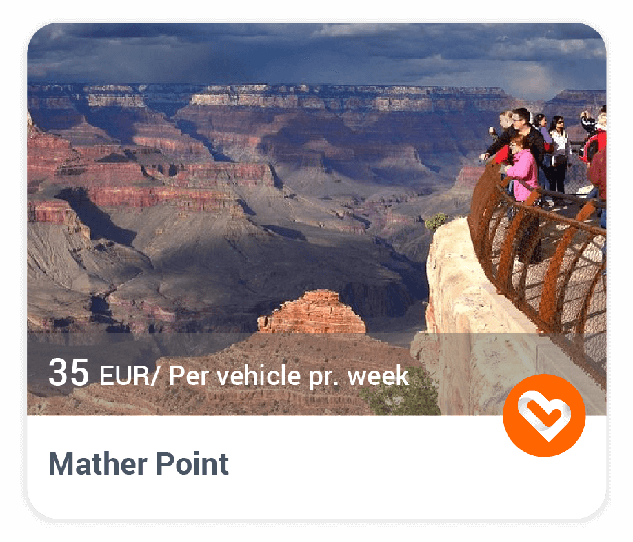 Mather Point in Grand Canyon with price and description