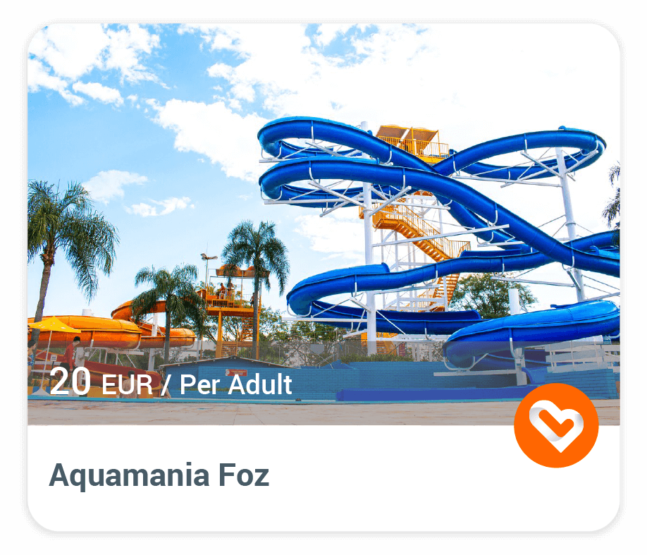 "The Waterpark ""Aquamania Foz"" with price and description"