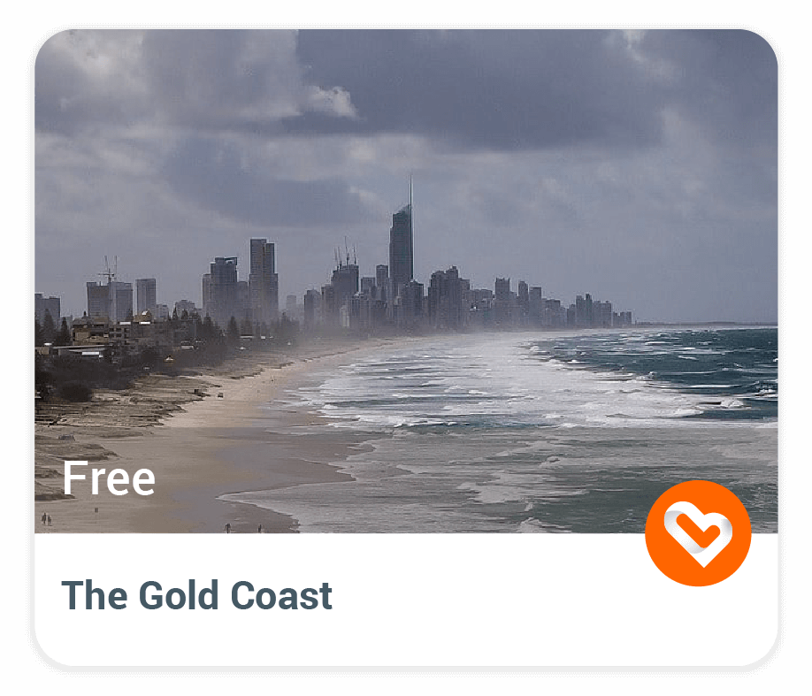 Gold Coast with price and description