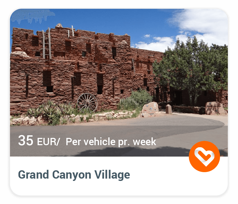 Grand Canyon Village with price and description
