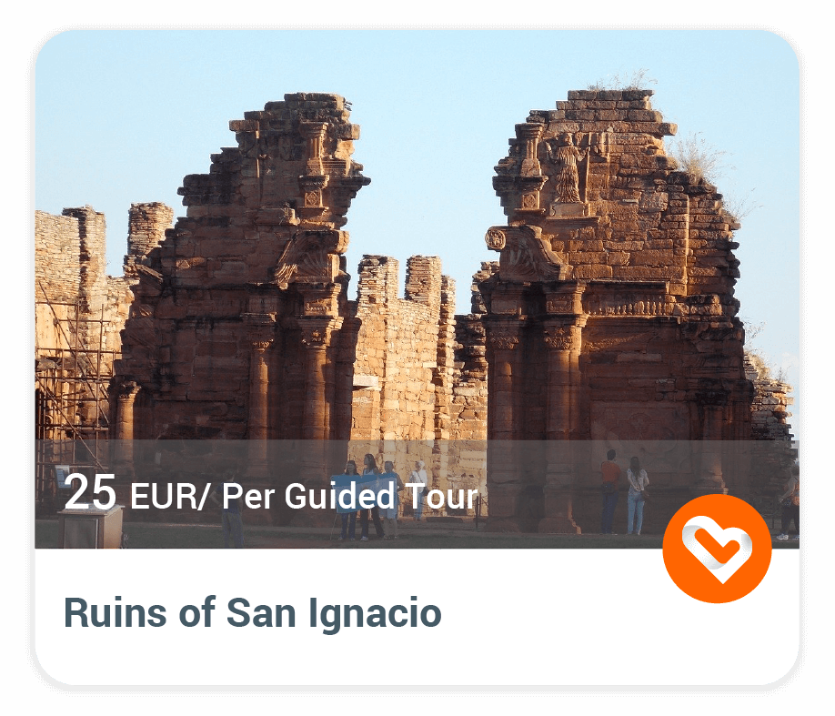 The ruins of san ignacio with price and description