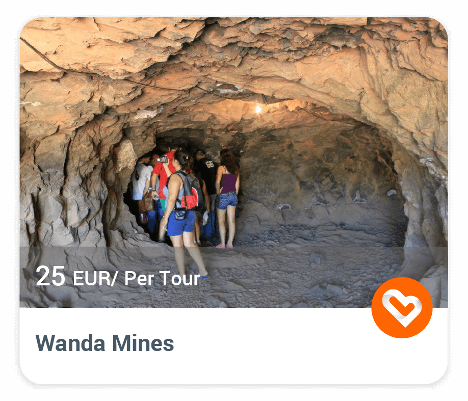 The wanda mines with price and description